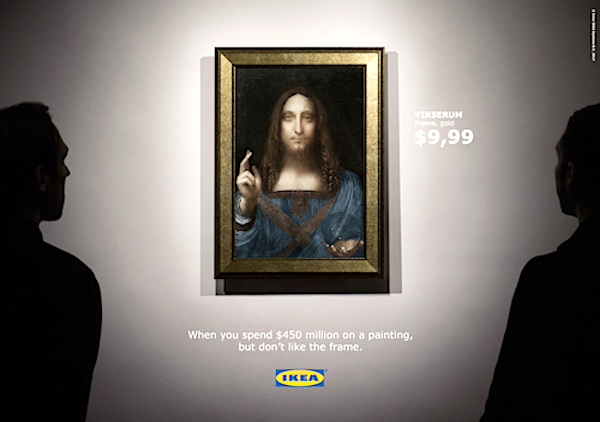 Ikea-Acne-Salvator Mundi